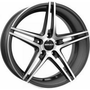 Monaco Portier Matt Anthracite Polished 8.5x19 5/112 ET45 B73,1